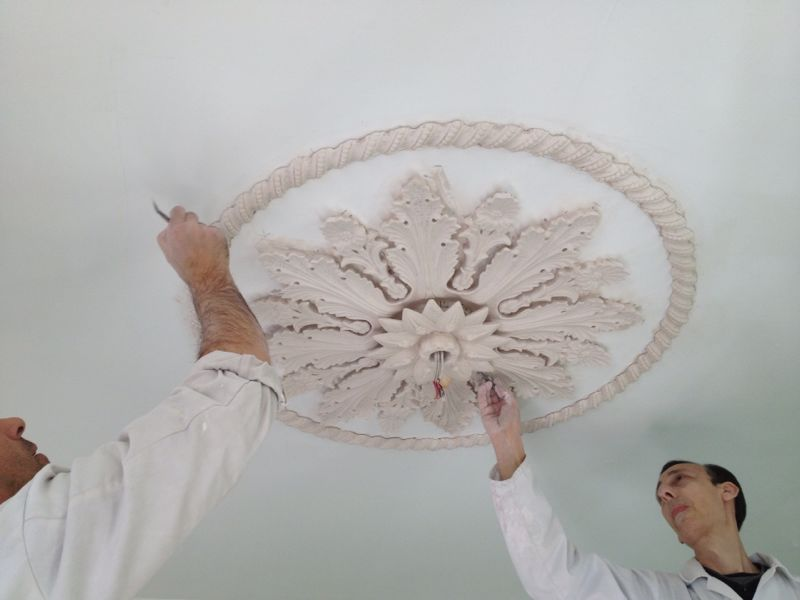 repairing plaster