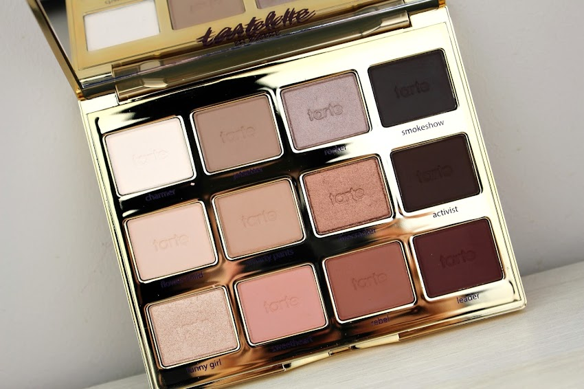 Revue & Makeup | La Tartelette in Bloom de Tarte ! Idee makeup maquillage palette