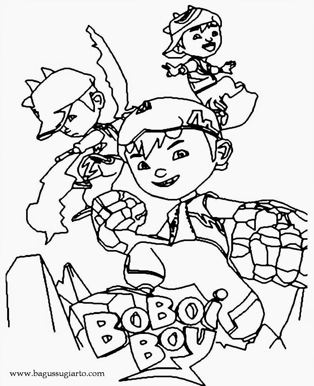 Mewarna BoboiBoy Bagus Sugiarto