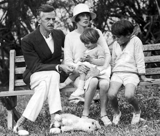 Agnes Boulton and Oneil with their children