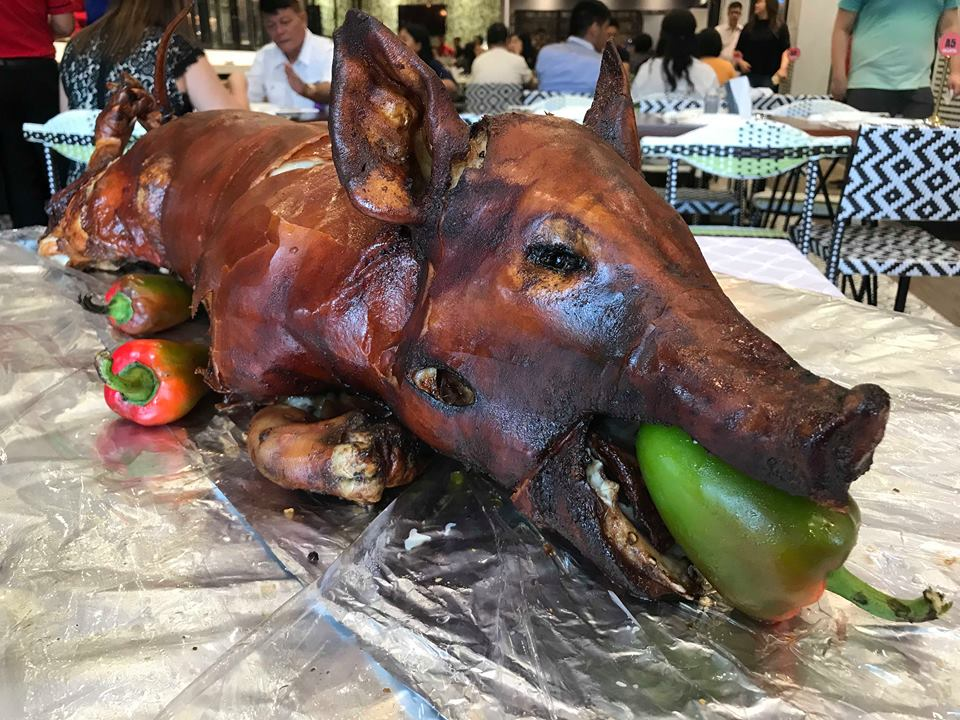 4b470627f The Roasting Pit-an anticipated attraction for visitors of the vicinity-in  Rico's Lechon Tiendesitas is much bigger, which can hold up to twenty  full-size ...
