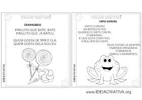 Álbum Ilustrado Cantigas de Roda Folclore