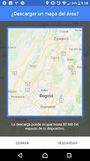 solo debes descargar el mapa o la ruta que deseas con el acceso wifi de tu casa y una vez estés en la vias usar el mapa descargado en tu aplicación