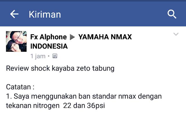 Pengalaman Menggunakan Shock Kayaba Zeto Tabung