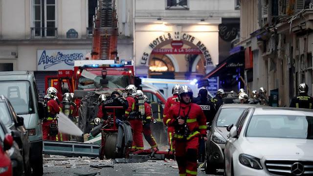 Από διαρροή υγραερίου η έκρηξη με 3 νεκρούς στο Παρίσι (βίντεο)
