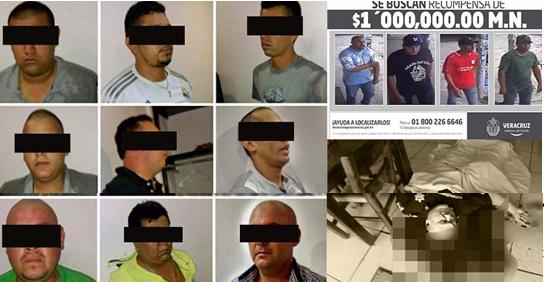 CAPTURAN EN PUEBLA A LOS PRESUNTOS SICARIOS EJECUTORES DEL COMISARIO DE LA POLICÍA FEDERAL ASESINADO EN VERACRUZ