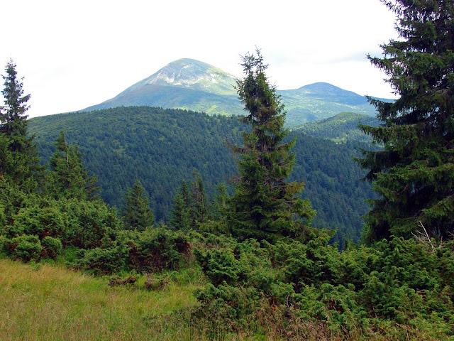 Самые высокие горы Украины. Говерла