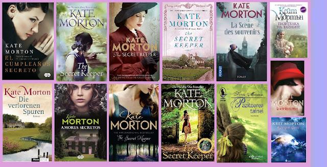 portadas del libro El cumpleaños secreto, de Kate Morton