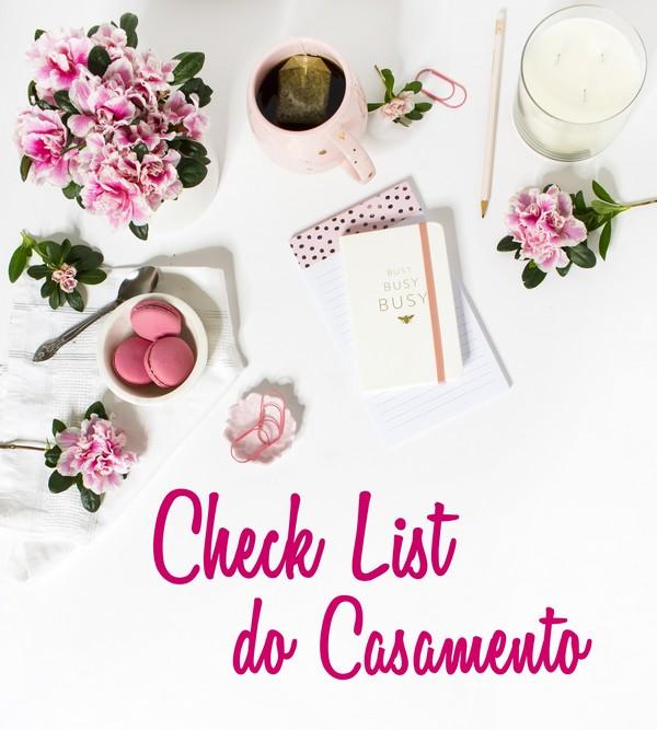 Check List | Organize o seu Casamento
