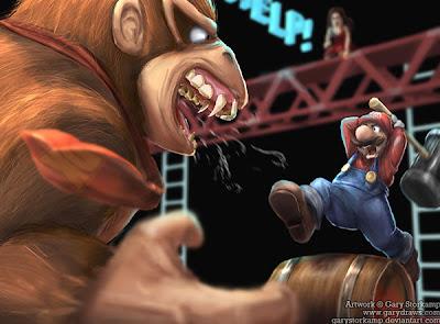 Arte e iustración con Super Mario Bros