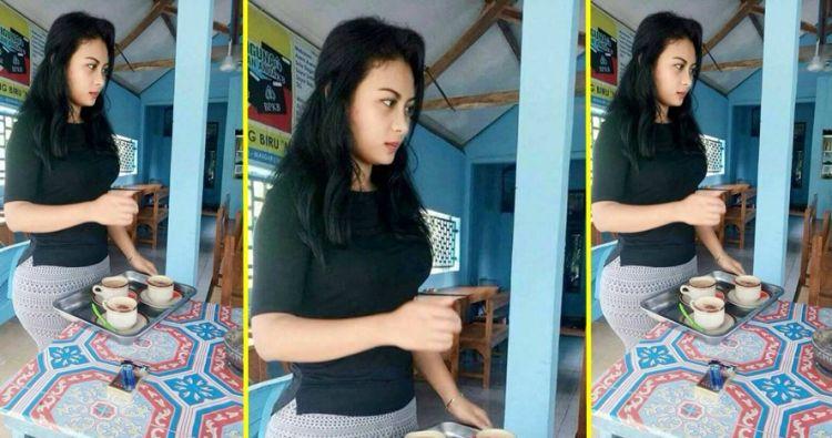 Foto-foto Penjaga Warung Kopi Cantik dan Seksi di Depok