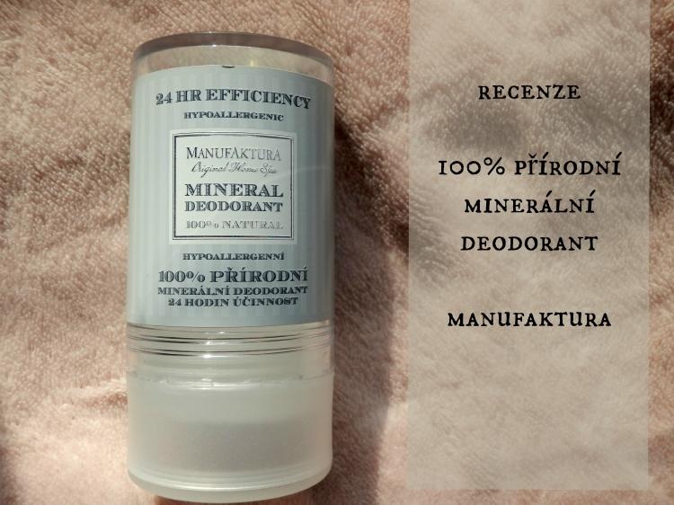 recenze deodorantu manufaktura