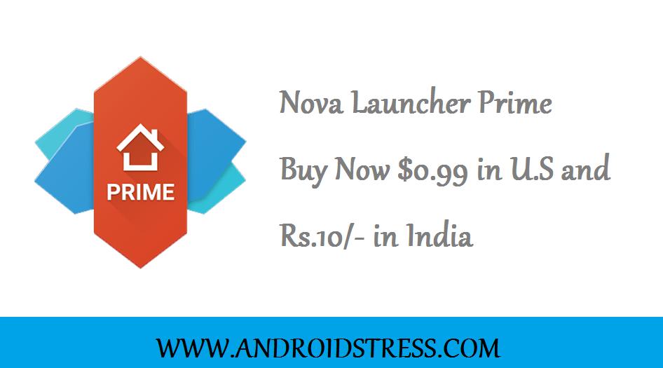 Nova Launcher Sale