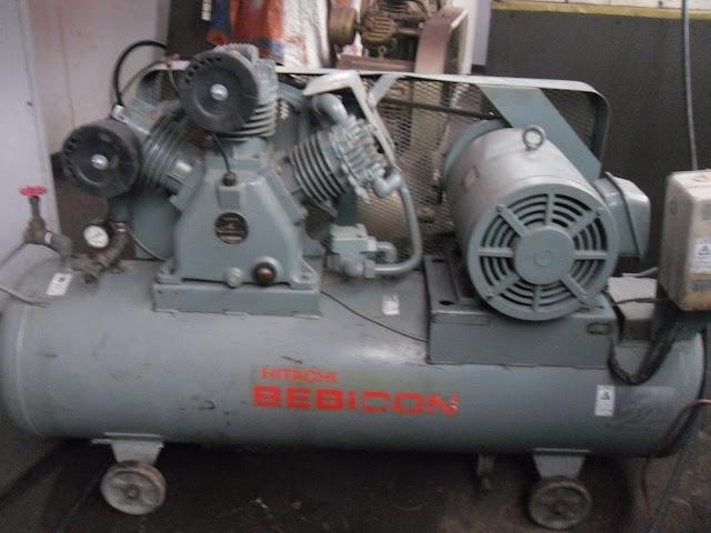 máy nén khí bình hitachi 15 kw bình chứa 285 lít