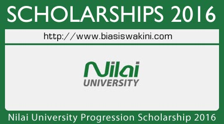 Nilai University Progression Scholarship 2016