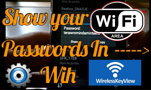 كيف تظهر كلمة سر شبكة الواي فاي المتصل بها بأداة WiFiKey View