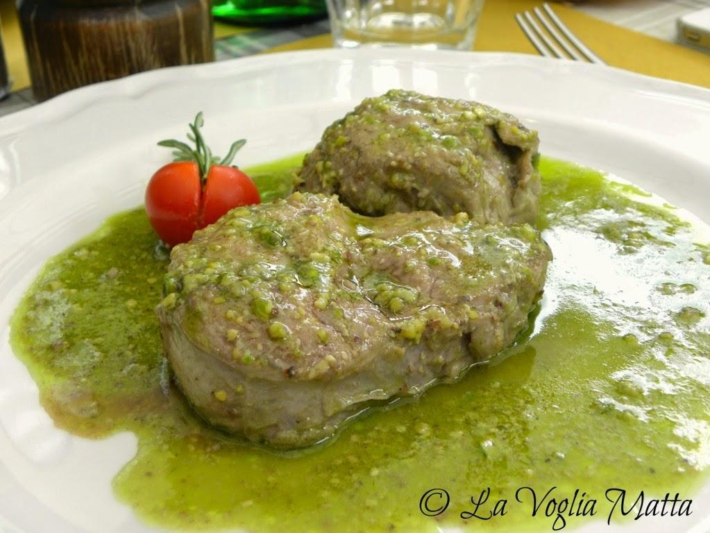"""S. Quirico Trattoria """" Al Vecchio Forno """" filetto di maiale di cinta"""