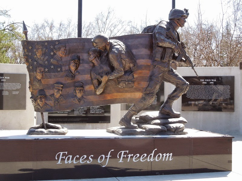 Faces of Freedom Veterans Memorial, Atacadero, CA, photo © B. Radisavljevic