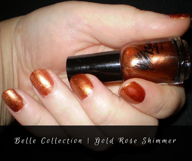 belle Collection | Rose Gold Shimmer