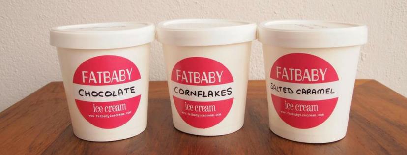 Fat baby Ice Cream
