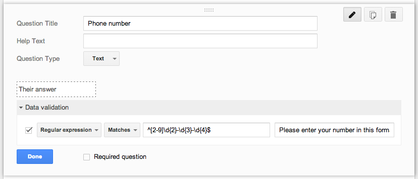 friEdTechnology: How to Create Data Validation for Phone Numbers in Google  Forms