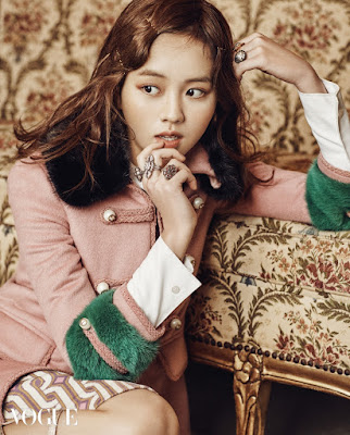 Kim So Hyun EXO DO Vogue February 2016
