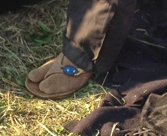 sokker i sandaler