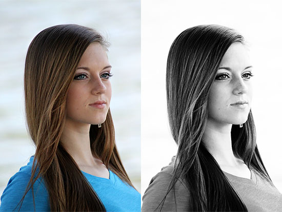 Before-and-after-image-of-black-and-white-photo-effect-in-Photoshop