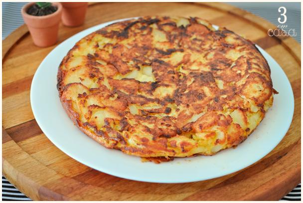 receita de tortilla espanhola