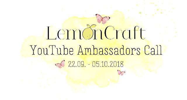 LemonCraft YouTube Ambassadors Call