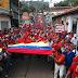 Así se vivió la marcha oficialista en Trujillo