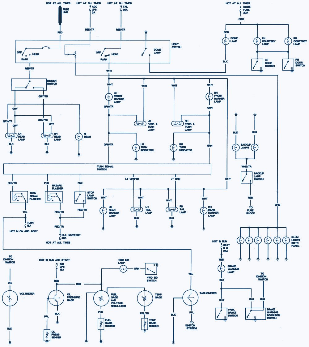 jeep cj wire diagram
