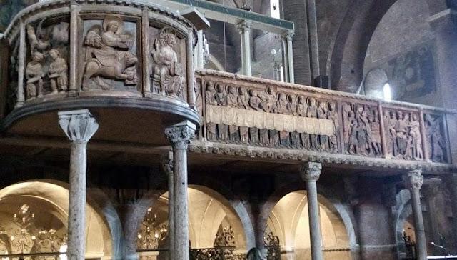pontile campionese nella cattedrale Modena