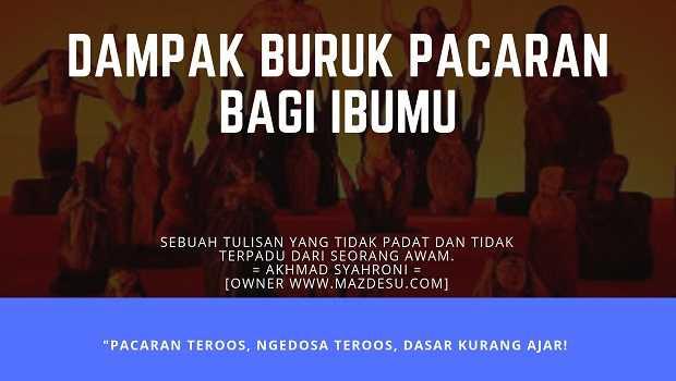 Dampak Buruk Pacaran dalam Islam