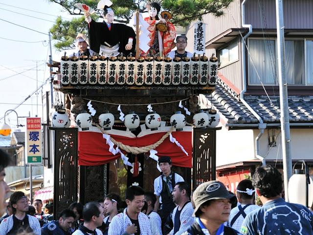 Yamanashi Gion Matsuri (summer festival), Fukuroi City, Shizuoka