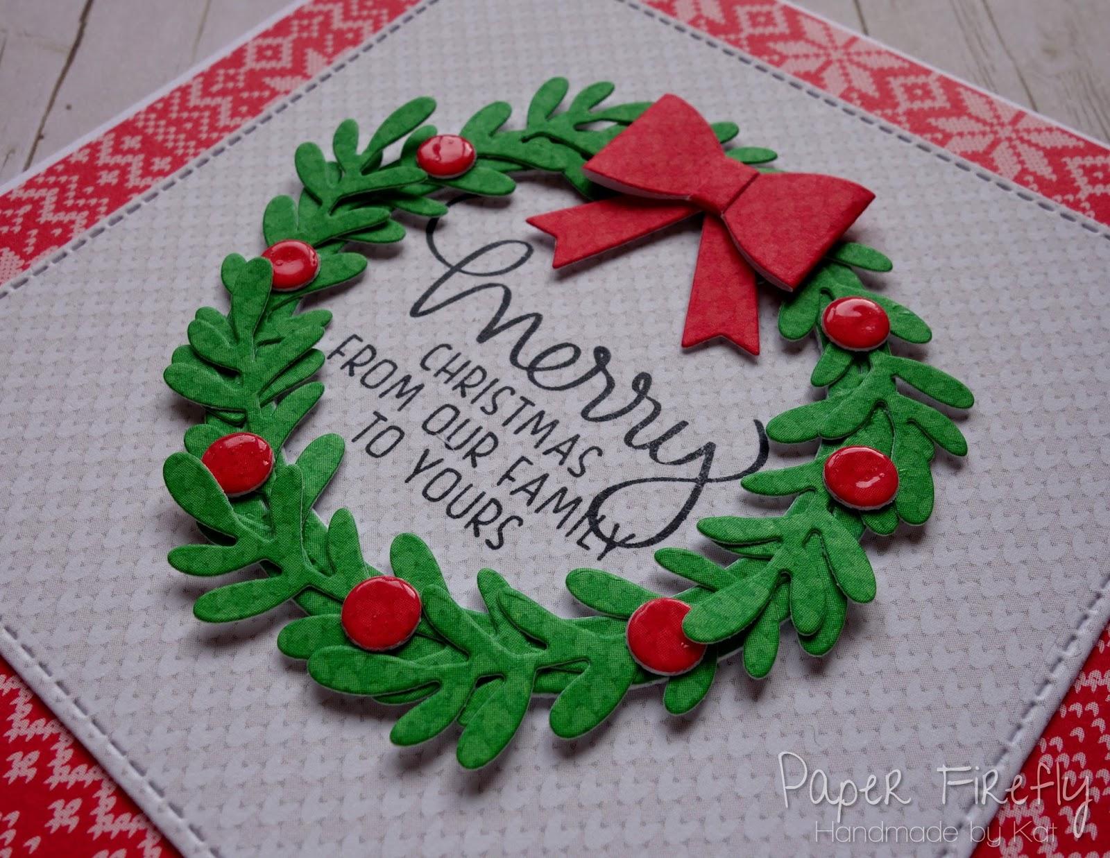 paper firefly big wreath little wreath