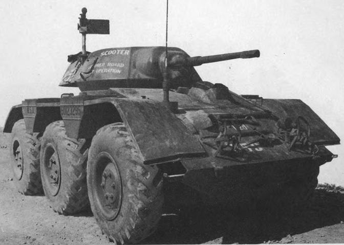 Catainium's Tanks: M38 Wolfhound Light Armored Car