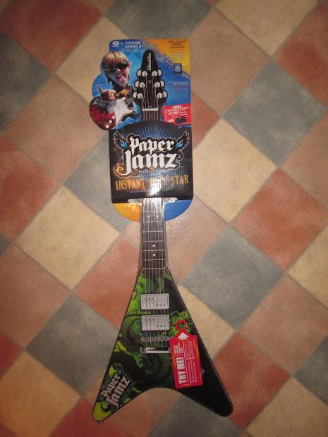 Honest Mummy Paper Jamz Guitar Toy