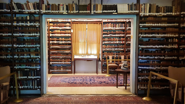Casa de Ben Gurion, Biblioteca, Tel Aviv, Yaffo, Israel, Elisa N, Blog de Viajes Argentina, Lifestyle