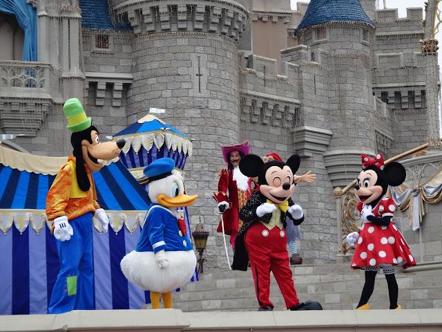 vídeo de viagem à Disney