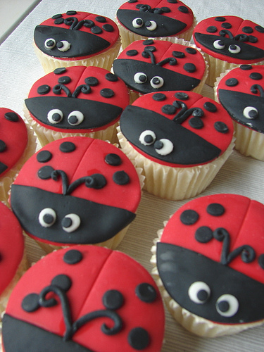 Bee Found Ladybug Cuppycakes I Don T Want To Eat
