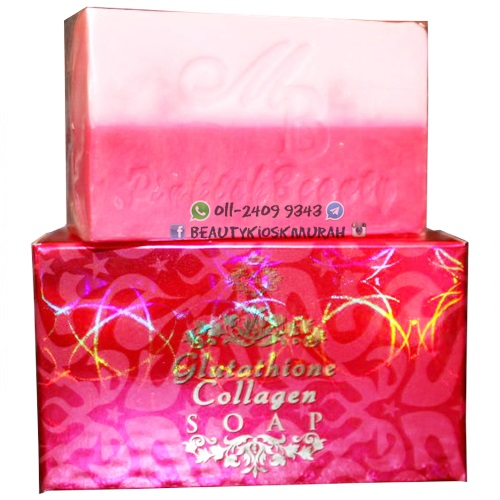 Glutathione Collagen Soap Pinky Beauty