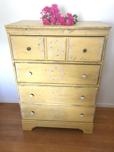 lemon meringue dresser
