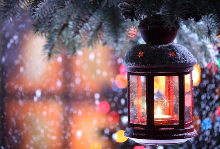 kış resimleri gaz feneriyle fotoğraflanmış