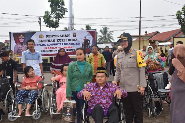SIREMBAK Peduli Kaum Disabilitas di Muba