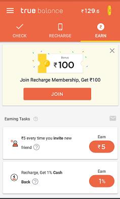 true balance app gold member