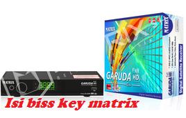 Langkah Cara Mengisi BISS KEY Receiver MATRIX GARUDA