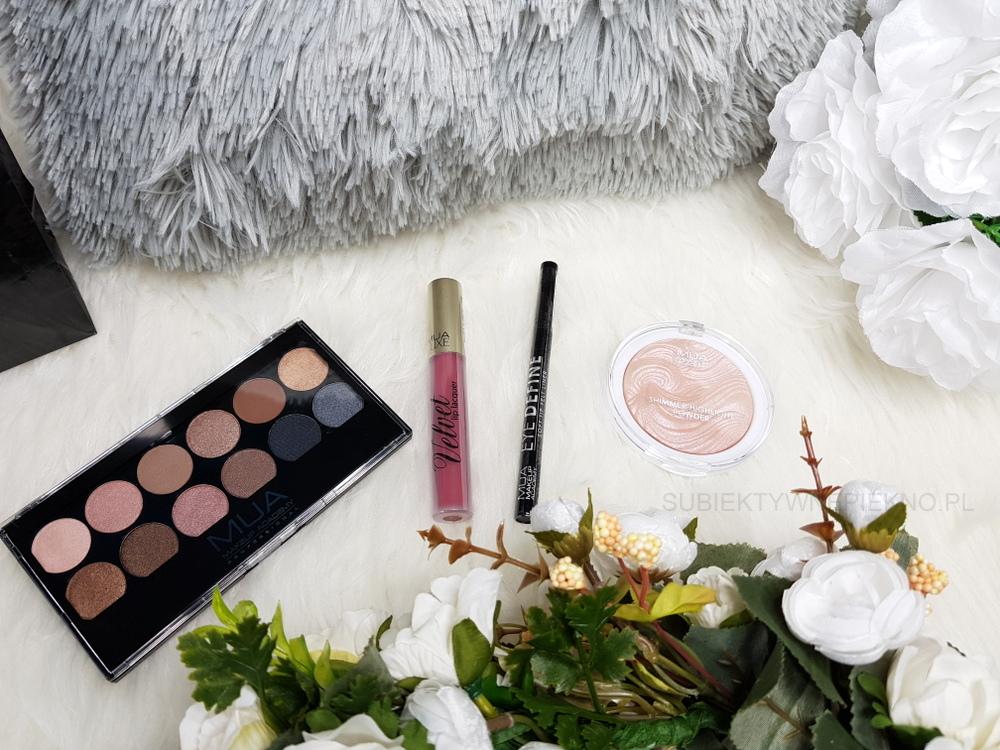 Nowości marzec 2018 - upominki Drogerie Jaśmin - Make Up Academy MUA