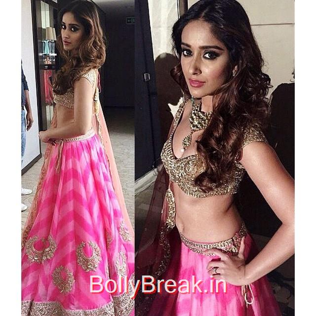 ileana looks fantastic 😍💖🙌 @ileana_official, ILeana DCruz in Anushree Reddy Lehenga Choli at Lakme Fashion Week