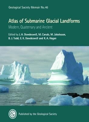 atlas mundial de las formas del relieve submarino causadas por la acción del hielo